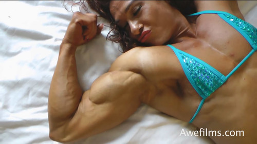Alina Popa ~ Sensual Muscle Talk