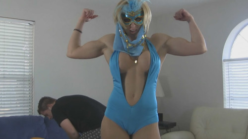 Masturbating Genie, comes to life!