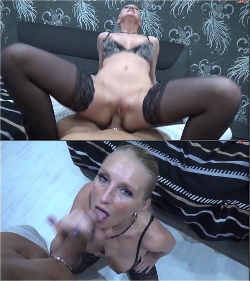 LadyKacyKisha - Multipler Reit-Orgasmus mit XXL Sperma Ladung [FullHD 1080p] (MDH)