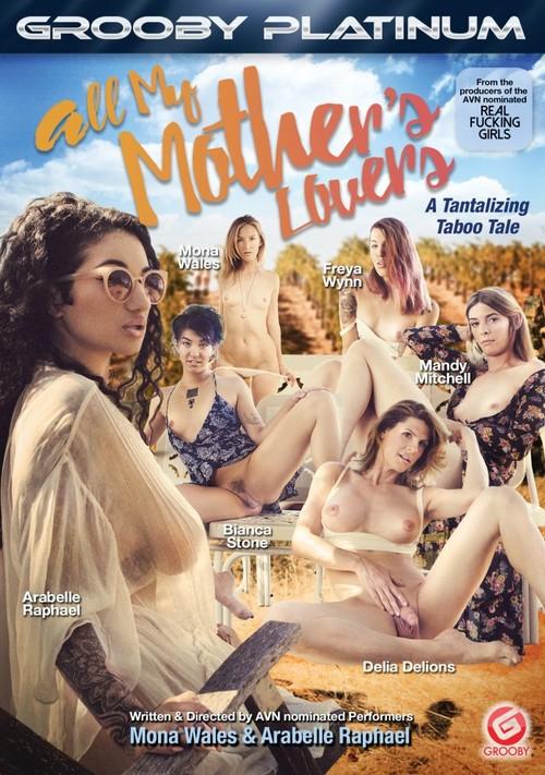 Grooby: Freya Wynn, Delia Delions, Mandy Mitchell - All My Mother's Lovers (Split Scene) (FullHD/2017)