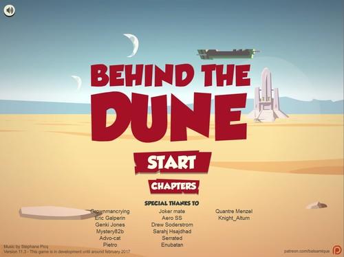 Behind the Dune - Version 11.3 [David Goujard]