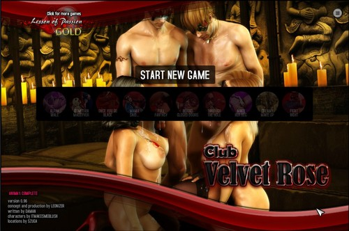 Club Velvet Rose - Bugfix Version 0.96 [Lesson of Passion] + Cheats
