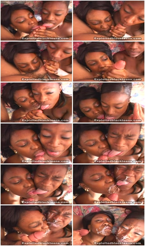 Interracial oral creampie dont be ebony