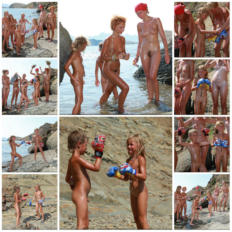Boxing On A Beach 49-60,