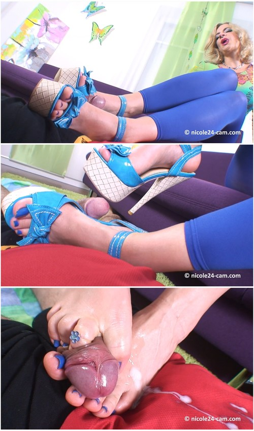 Footjobs shoejobs and