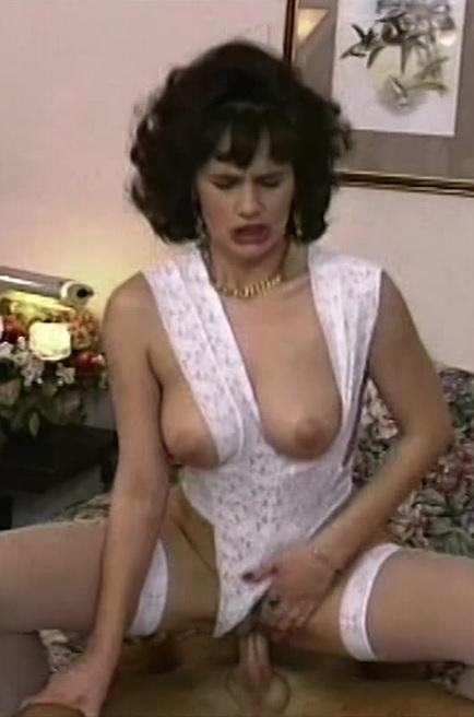 Brunette Housewife In Sexy Lingerie Bedroom Fucked