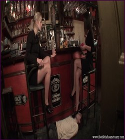 FFS-004 - Mistresses Amanda & Celeste - Stay Down Untill You Lick Clean Our Feet