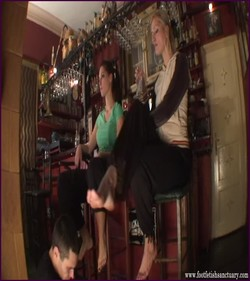 FFS-006 - Mistresses Amanda & Celeste - Playing With The Foot Slave