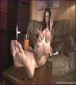 FFS-031 - Mistress Maria - Dirty Feet Close-Up