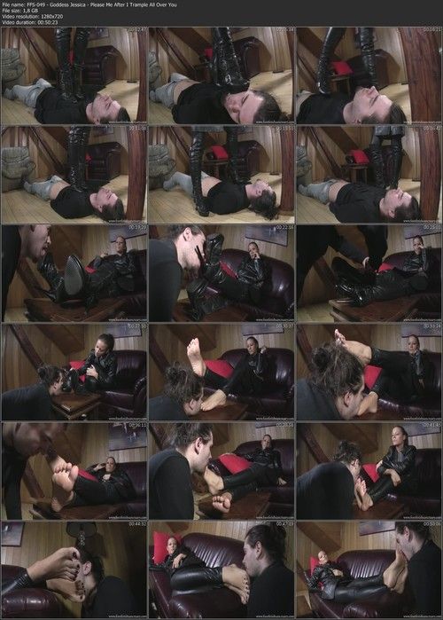FFS-049 - Goddess Jessica - Please Me After I Trample All Over You