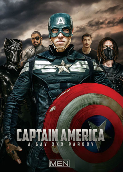 Captain America - A Gay XXX Parody (2016)