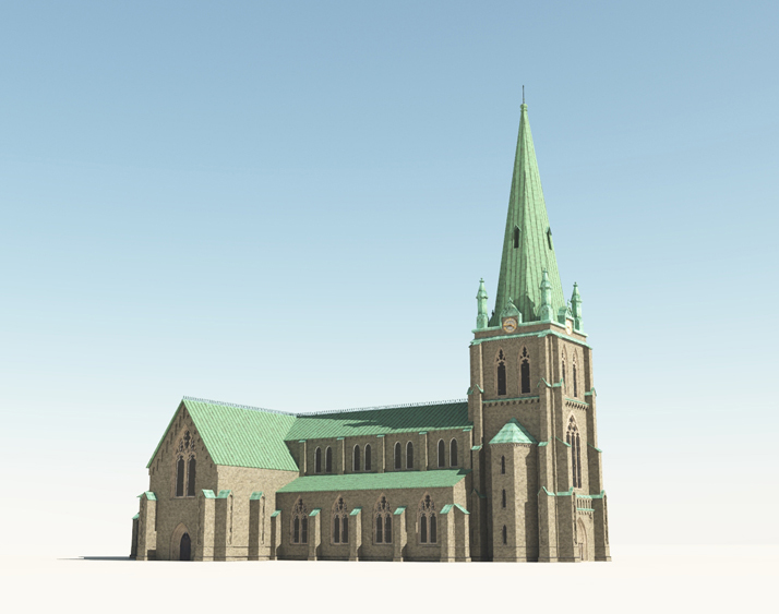 Neo Gothic Cathedral