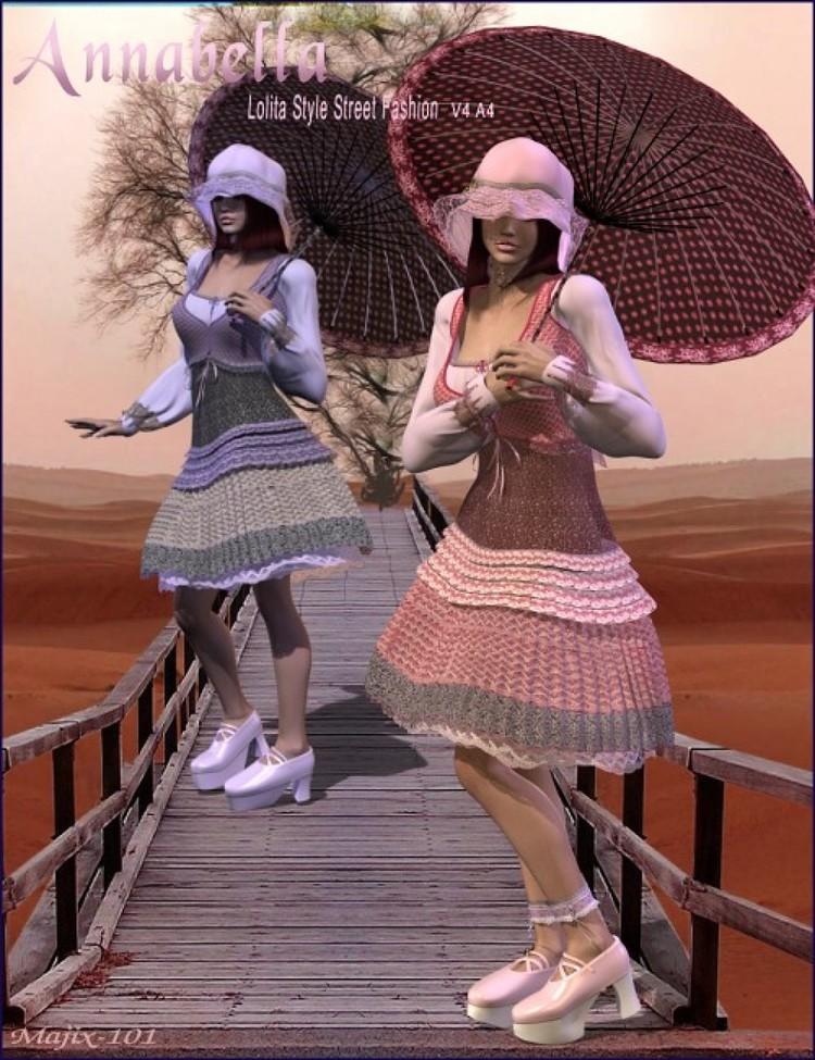 Annabella Fantasy Clothes
