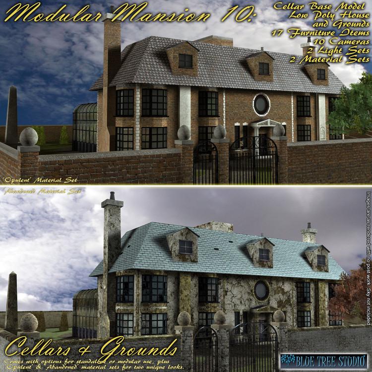 Modular Mansion 10: Cellars and Grounds
