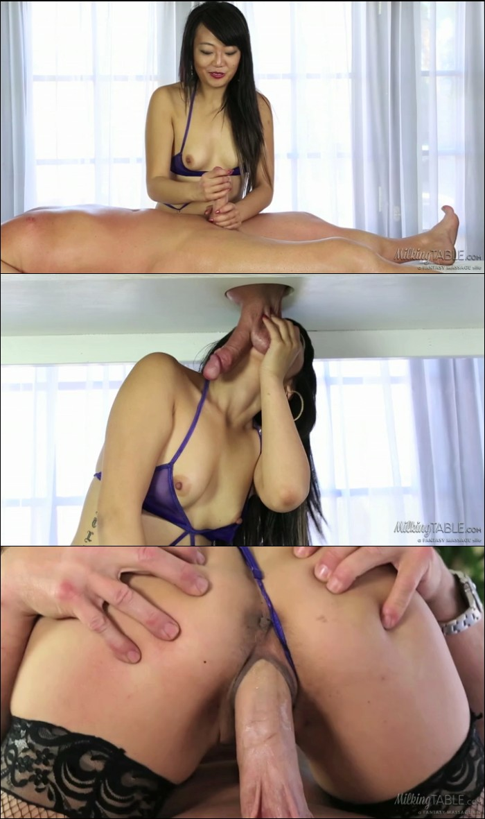 Asian Nuru Massage Cumshot