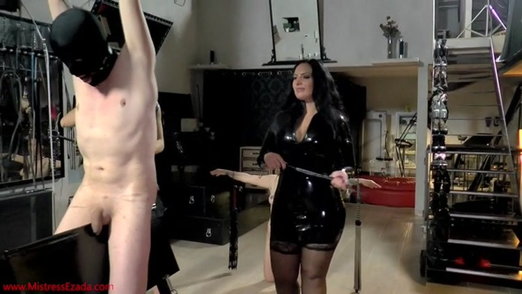 Humiliating break up ballbusting leggings - 2 part 9