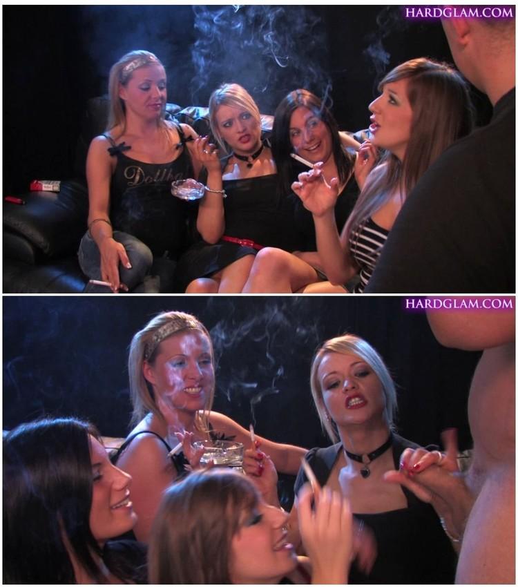 2 Blonde Girls Blowjob Pov