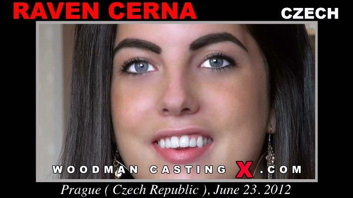 [WoodmanCastingX] Raven Cerna (Casting And Hardcore, 18.07.2012) [All sex, Oral, Anal, 720p]