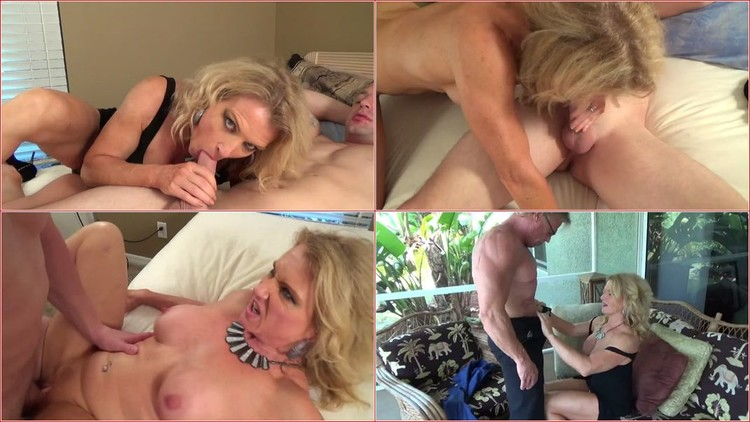 Bitchy busty mature amanda verhooks fucked by two big cocks