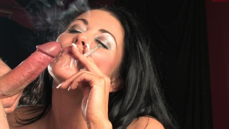 Seductive Smoking Porn Pics